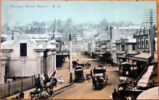 1910 Postcard - 'Hastings Street - Napier, New Zealand'