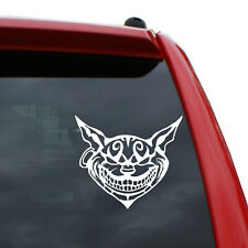 "Alice in Wonderland - Cheshire Cat Vinyl Decal | Color: White | 4.4"" x 5"""