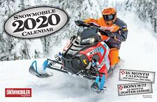 2020 SNOWMOBILE DELUXE WALL CALENDAR