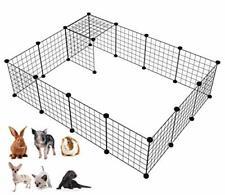 Langxun 16pcs Metal Wire Storage Cubes Organizer, Diy Small Animal Cage for Rabb