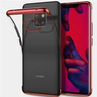 Slim Cover für Huawei P30 Lite Hülle Silikon Handy Tasche Schutzhülle Case
