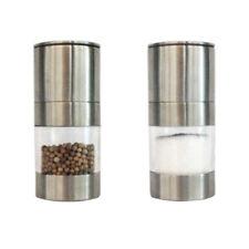 Durable Manual Stainless Steel Salt Pepper Mill Grinder Muller Kitchen Tool UK