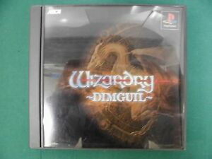 PlayStation -- Wizardry DIMGUIL -- PS1. JAPAN GAME. 28375