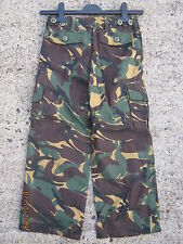 Kids Army Camouflage Combat Trousers Size 5 to 6 Years