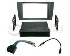Radio Dash Kit Combo Single DIN + Standard 2DIN + Wire Harness + Antenna J13
