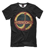 Интеркосмос New t-shirt Soviet Space programm Russia Intercosmos USSR hq 144435