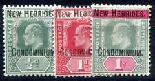 NOUVELLES HEBRIDES 1908 Yvert 12-14 * 77€(F3813