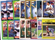 Mike Aldrete 46 Card Lot