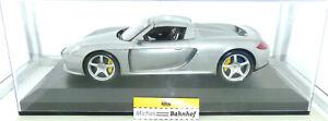 Porsche Carrera GT silber Collectors Line 1:12 OVP å