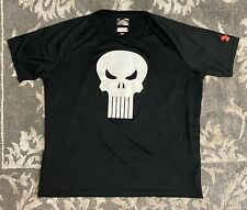 Under Armour Alter Ego Punisher Black White Mens Sz XL Loose Fit T Shirt