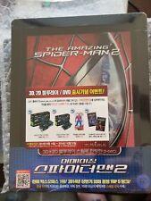THE AMAZING SPIDER-MAN 2 STEELBOOK [NEW/OOP/3D+2D] Korea Import/Region Free