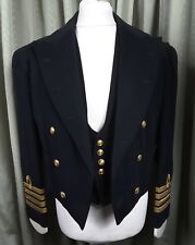 Vintage 60s Bespoke Royal Navy Captain's Mess Dress Gieves Ltd 1962 C40 W36 L31