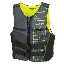 O'Brien Flex V Back BioLite Neoprene Waterski Wakeboard Impact Vest