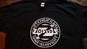 ZOUNDS - Can't cheat Karma T-Shirt Size 2XL.Anarcho Punk,Flux,Crass,The Mob,Dirt
