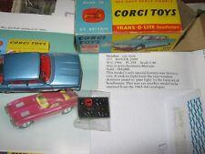 CORGI 252 ROVER 2000 GOOD ORIGINAL EXCELLENT ON PAINT IN ORIGINAL GOOD BOX+BADGE