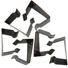 6 Stück Verbinder Metall für Polyrattan Gartenmöbel Rattan Klammer Clip Lounge