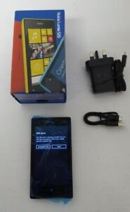 Nokia Lumia 520 - 8GB - Black (Unlocked) Smartphone Mobile Phone *WORKING*  D51