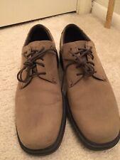 Rockport Margin Espresso Suede Dress Shoes Men's Size 9.5