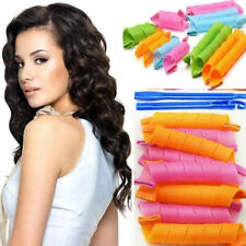 No Harm Spiral Rollers Magic Hair Curlers Waves Reusable Styling Tools with Hook