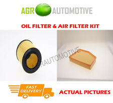 PETROL SERVICE KIT OIL AIR FILTER FOR BMW 525I 3.0 218 BHP 2007-10
