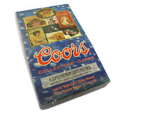 Coors Beer Collectors Edition Trading Card Unopened Pack Box - See more at: http