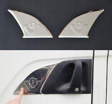 V8 SCANIA 3D vetro cromato acciaio INOX METALLO MANIGLIA PORTA DISCHI