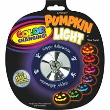 Colour Changing Pumpkin Light Halloween Trick or Treat Party Pumpkin Carving ...