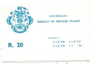 SEYCHELLES - 1980 R20 STAMP BOOKLET