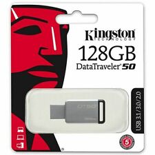 Kingston® DataTraveler® DT50 128GB USB 3.0 Flash Stick Pen Memory Drive Genuine