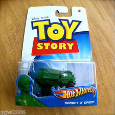 Disney PIXAR Toy Story BUCKET O' SPEED Hot Wheels diecast Jeep Sarge army men