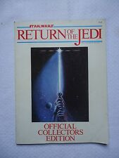 Star Wars Return of the Jedi Official Collector's Edition Magazine 1983 No Barco