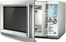 Breville BMO735BSS The Quick Touch Microwave Oven, 1100W, Stainless Steel