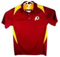 NFL Team Apparel Mens TX3 Cool Washington Redskins Polo Shirt Size Medium ~ M