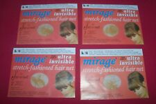 New 8 Jac-O-Net Light Mirage Invisible Hair Net Light Brown/Blond Hair No.146
