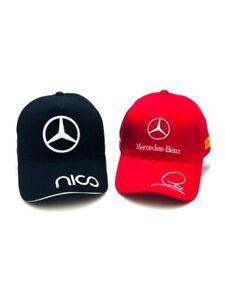 F1 Racing Mercedes Benz Hats