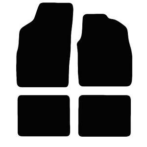 Fiat Panda 2003 to 2012 Tailored Black Car Floor Mats Carpets 4pc
