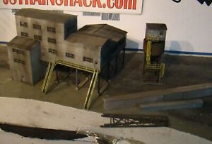 HO Scale Building Walthers Diamond Coal Mine Built Weathered