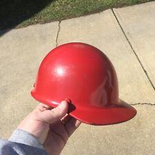 Vintage Hard Hat Msa Skullgard Mine Safety Appliances Protective Cap Usa Dozer