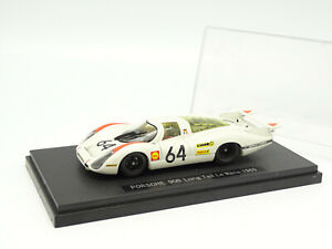Ebbro 1/43 - Porsche 908 Long Tail Le Mans 1969 N°64