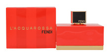 New Sealed Fendi L'Acquarossa 75ml EDT Spray Women Perfume