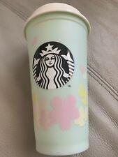 Starbucks sakura 2020 plastic cup,grande,green