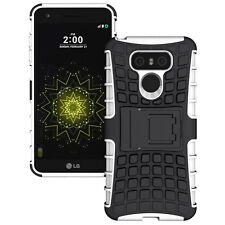 Hybrid Case 2teilig Outdoor Weiß für LG G6 H870 Tasche Hülle Cover Neu Schutz