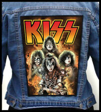 KISS - Band --- Giant Backpatch Back Patch / Poison Cinderella Alice Cooper