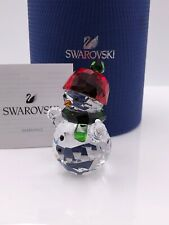 SWAROVSKI SNOWMAN WITH RED HAT NIB #5288205