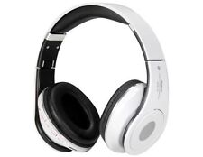 CUFFIE WIRELESS BLUETOOTH STEREO MP3 FM MUSICA SOLT MICRO SD CELLULARE IPHONE