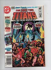 New Teen Titans #21 - 1st Full App Brother Blood - 1st App Monitor - (9.2) 1982