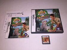 Pets Rescue: Endangered Paradise (Nintendo DS) Original Release Complete Nice!