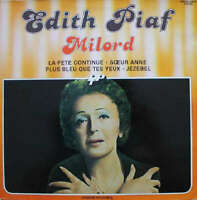 Edith Piaf Milord LP Comp Vinyl Schallplatte 180266