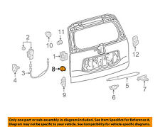 TOYOTA OEM BACK DOOR-Lock Assembly Packing 672820R010