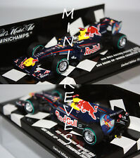 F1 1/43 Red Bull Rb6 Vettel Abu Dhabi GP 2010 Minichamps